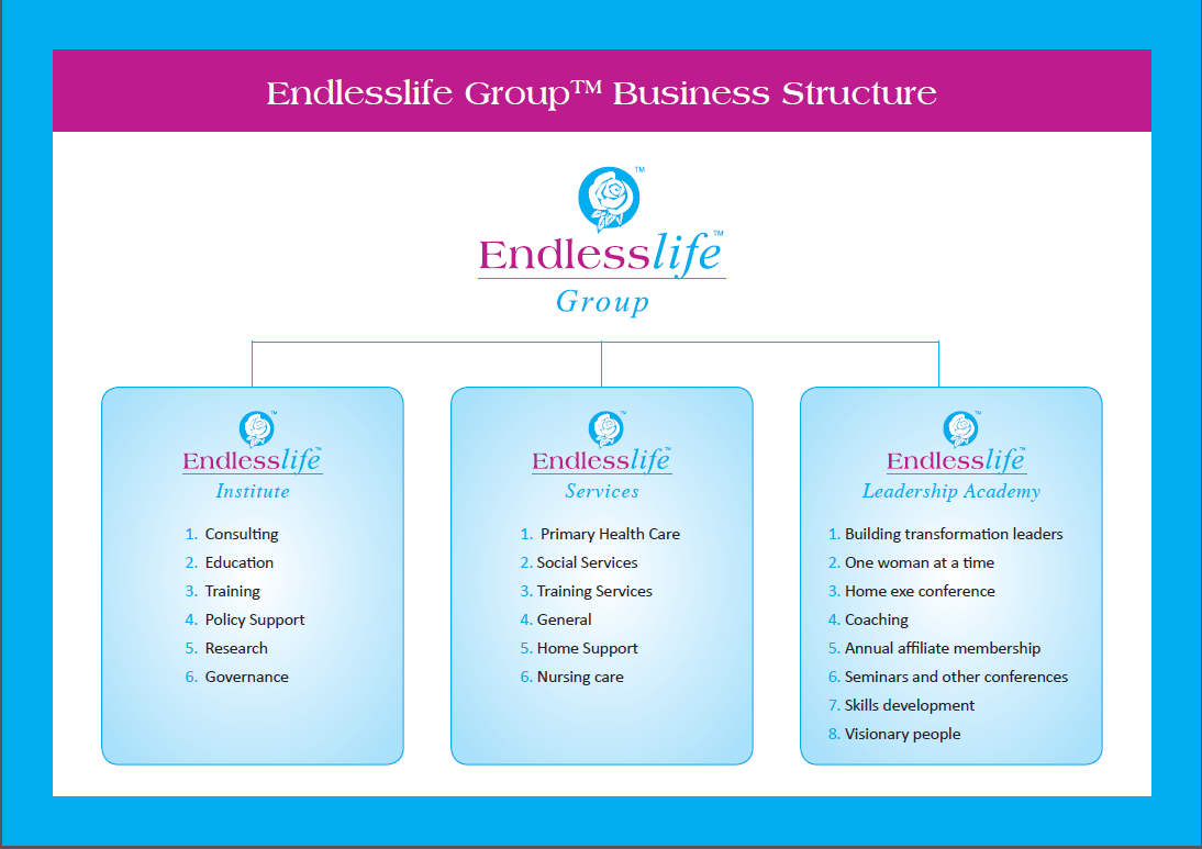 Endlesslife Business Structure